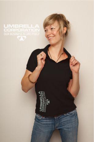 Umbrella corporation Polo Shirt